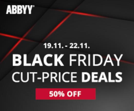 ABBYY - Черная Пятниця (19 – 22 ноября 2019 года)