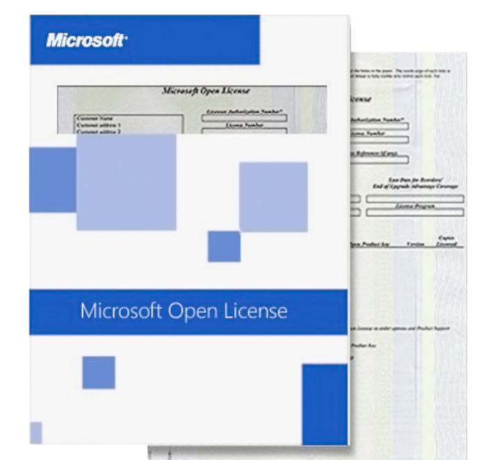 КОРПОРАТИВНЫЕ ЛИЦЕНЗИИ MICROSOFT OLP (Microsoft Open License)