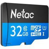Netac MicroSD card P500 Standard 32GB, retail version w/ o SD adapter (NT02P500STN-032G-S)